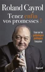 TENEZ ENFIN VOS PROMESSES !