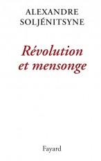 Révolution et mensonge