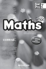 Mathématiques Sde Bac Pro Corrigé