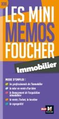 Les mini memos Foucher - Immobilier - Révision