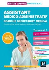 Réussite Concours - Assistant médico-administratif-Secrétariat médical - Cat B Préparation complète
