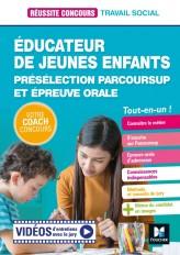 Réussite Concours Educateur jeunes enfants - EJE - Préselection Parcoursup + Ep orale - Préparation