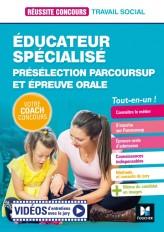 Réussite Concours Educateur spécialisé - ES - Préselection Parcoursup + Epreuve orale - Préparation