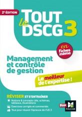 Tout le DSCG 3 - Management et contrôle de gestion - 2ème édition - Révision et entraînement