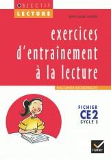 Objectif Lecture - Exercices d'entraînement à la lecture CE2