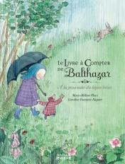 Le livre à compter de Balthazar - A la poursuite du lapin brun - Pédagogie Montessori