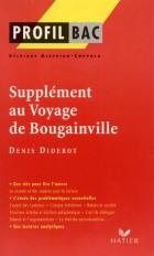 Profil - Diderot (Denis) : Supplément au voyage de Bougainville