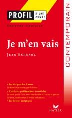 Profil - Echenoz (Jean) : Je m'en vais