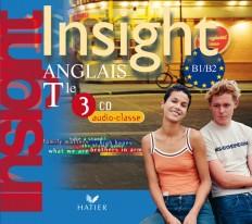 Insight Anglais Tle éd 2008 - 3 CD audio classe