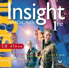 Insight Anglais 1re - CD audio élève de remplacement (édition 2007)