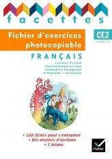 Facettes Français CE2 éd. 2009 - Fichier d'exercices photocopiables