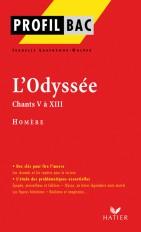 Profil - Homère : L'Odyssée,Chants V à XIII