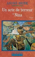 Un acte de terreur T1 - Nina