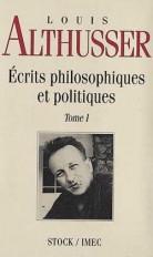 Ecrits philosophiques et politiques Tome 1