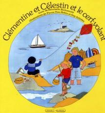 Clémentine et Célestin et le cerf-volant