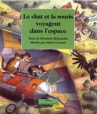 Le chat et la souris voyagent dans l'espace