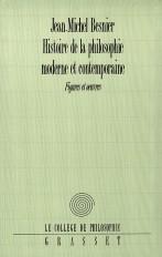 Histoire de la philosophie moderne et contemporaine