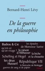 De la guerre en philosophie