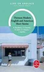 Thirteen modern English and american short stories