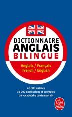 Dictionnaire de poche anglais bilingue