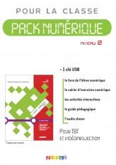 Ligne directe 2 niv.A2.1 - Pack numérique 1 - licence - Clé USB