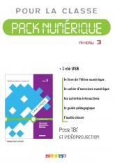 Ligne directe 3 niv.A2 - Pack numérique 1 - licence - Clé USB