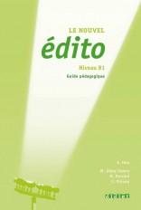 Le nouvel Edito B1 - Guide pédagogique  - version numérique pdf