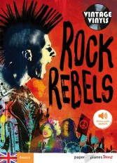 Rock Rebels - Livre + mp3