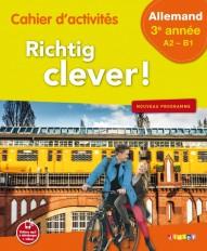 Richtig Clever 3ème année - Cahier - version papier