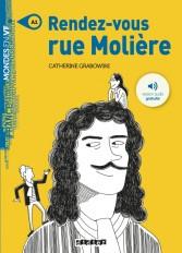 Rendez-vous rue Molière - Livre + mp3