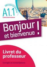 Bonjour et bienvenue ! - Pour coréanophones  A1.1 - Guide pédagogique  - version numérique pdf