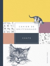 CAHIER DE GRIFFONNAGE CHATS