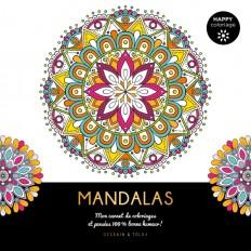 Mandalas - Happy coloriage