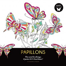 Happy coloriage Papillons
