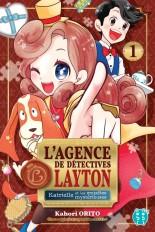 L'agence de détectives Layton T01