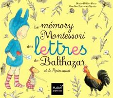 Le mémory Montessori des lettres de Balthazar et de Pépin aussi