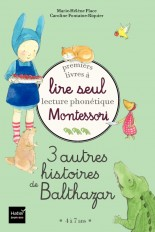 Coffret Premiers livres à lire seul - 3 autres histoires de Balthazar - niveau 3 - Montessori