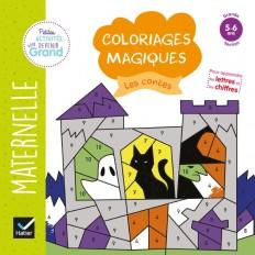 Coloriages magiques -  Les contes GS