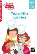 Téo et Nina cuisiniers