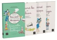Coffret premiers livres à lire seul 3 nouvelles histoires de Balthazar Niveau 3 PEDAGOGIE MONTESSORI