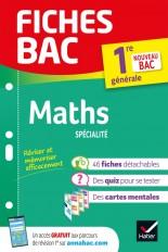 Fiches bac Maths 1re (spécialité)