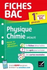 Fiches bac Physique-Chimie 1re (spécialité)
