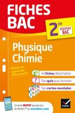 Fiches bac Physique-Chimie 2de