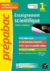Enseignement scientifique 1re (tronc commun) - Prépabac