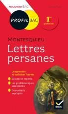 Profil - Montesquieu, Lettres persanes