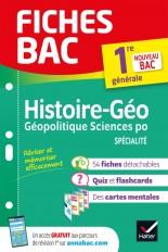 Fiches bac Histoire-géographie, Géopolitique, Sciences politiques 1re (spécialité)