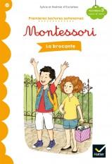 La brocante - Premières lectures autonomes Montessori