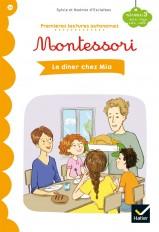 Le dîner chez Mia - Premières lectures autonomes Montessori