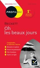 Profil - Beckett, Oh les beaux jours