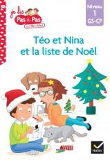 Téo et Nina GS-CP Niveau 1 - Téo et Nina et la liste de Noël